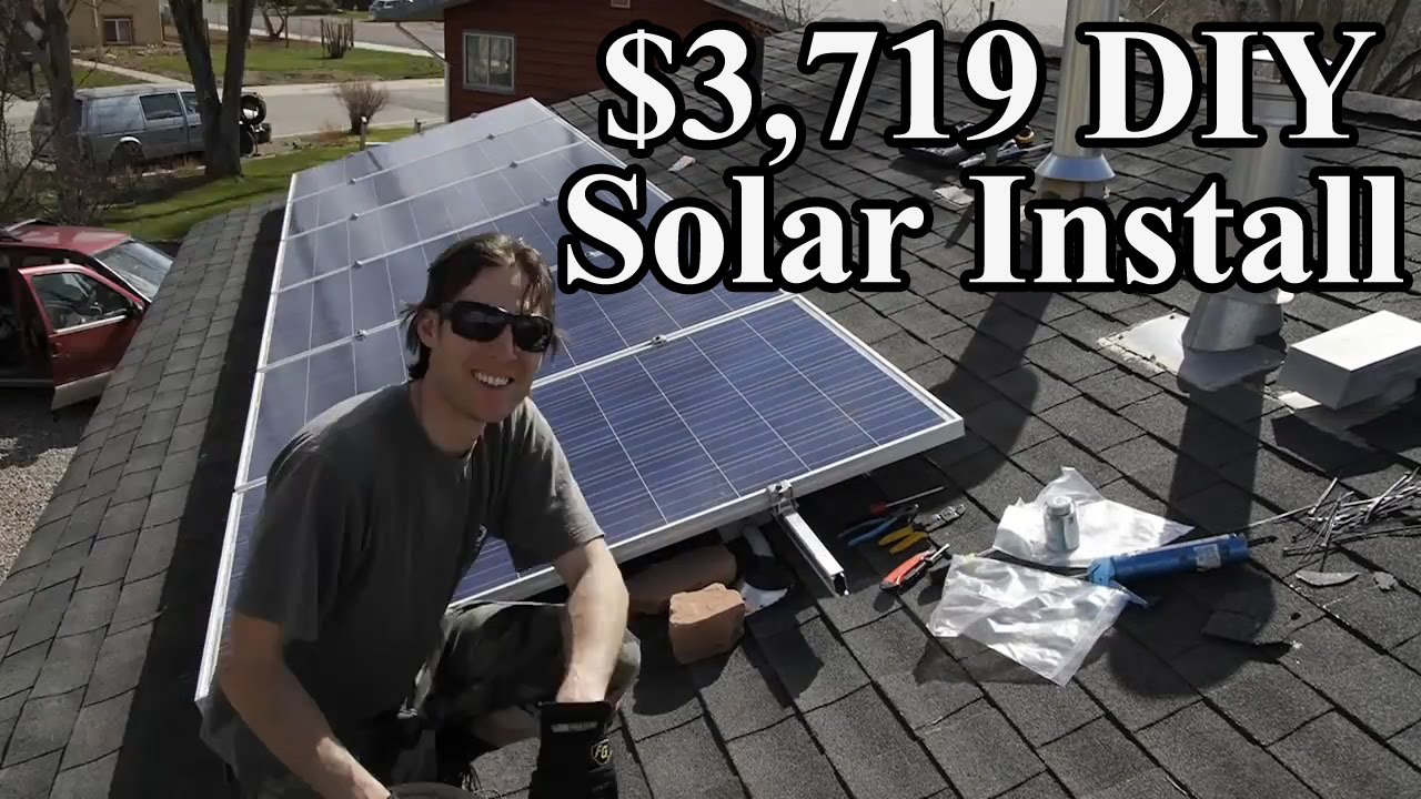 How To Install Solar Panels Diy Array Enphase