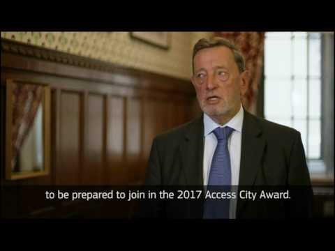#AccessCityAwards2017: Lord David Blunkett