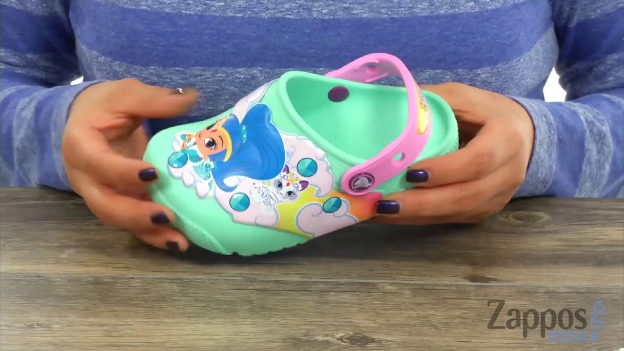 ed1d8609ce5 Crocs Kids Fun Lab Shimmer Shine Lights Clog (Toddler Little Kid) SKU   8989844
