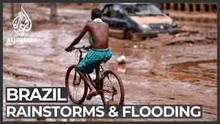 Brazil: Dozens killed as heavy rains cause floods, landslides