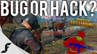 BUG OR HACK? - Battlegrounds