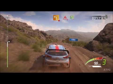 WRC 7 - YPF Rally Argentina (El Condor - Copina) - Gameplay (PC HD) [1080p60FPS]