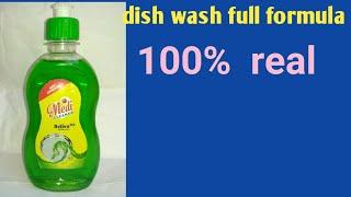 Dishwash liquid making original formula