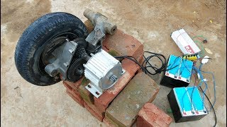 how to make powerful gear motor at home