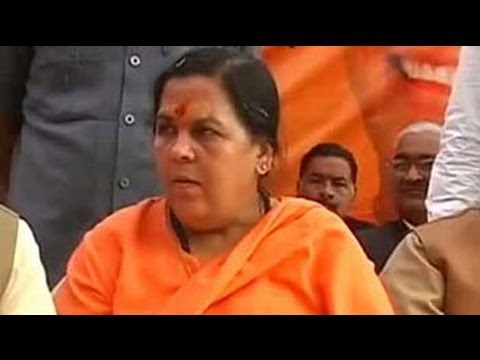 Party will decide if I'll fight against Sonia Gandhi: Uma Bharti on Ramdev's comment