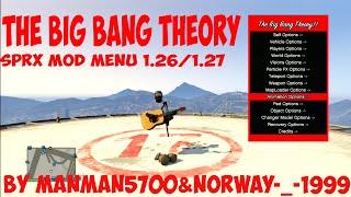 """GTA5/PS3 SPRX MOD MENU """"THE BIG BANG THEORY"""" 1.26/1.27 BY MANMAN5700&NORWAY-_-1999"""