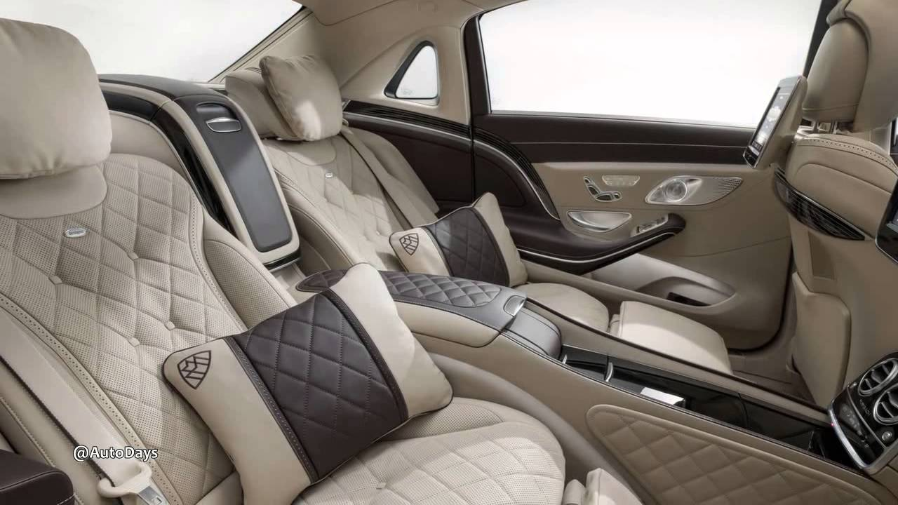 interiors 2016 mercedes benz s class maybach - youtube