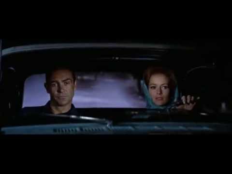 James Bond: Mustang scene from Thunderball