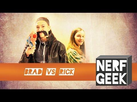 Nerf Geek - Brad Jones VS Rick Terletzky