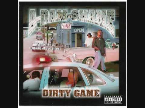A-Dam-Shame - Dirty Game (Rare Atlanta Hood Classic) 2000