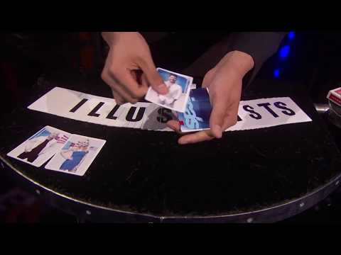 The Illusionists - Magician do fastest Card Trick - America's Got Talent 2017