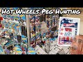 Hot Wheels Peg Hunting - DUMPBINS, 50th Anniversaries And More!
