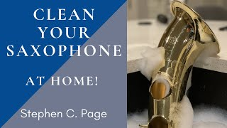 How To Clean Your Saxophone (Dishwasher?!)