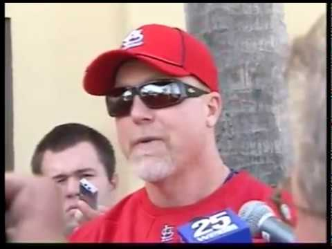 Mark McGwire Spring Training 2010