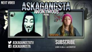 Anonymous Hack On Omegle.com \