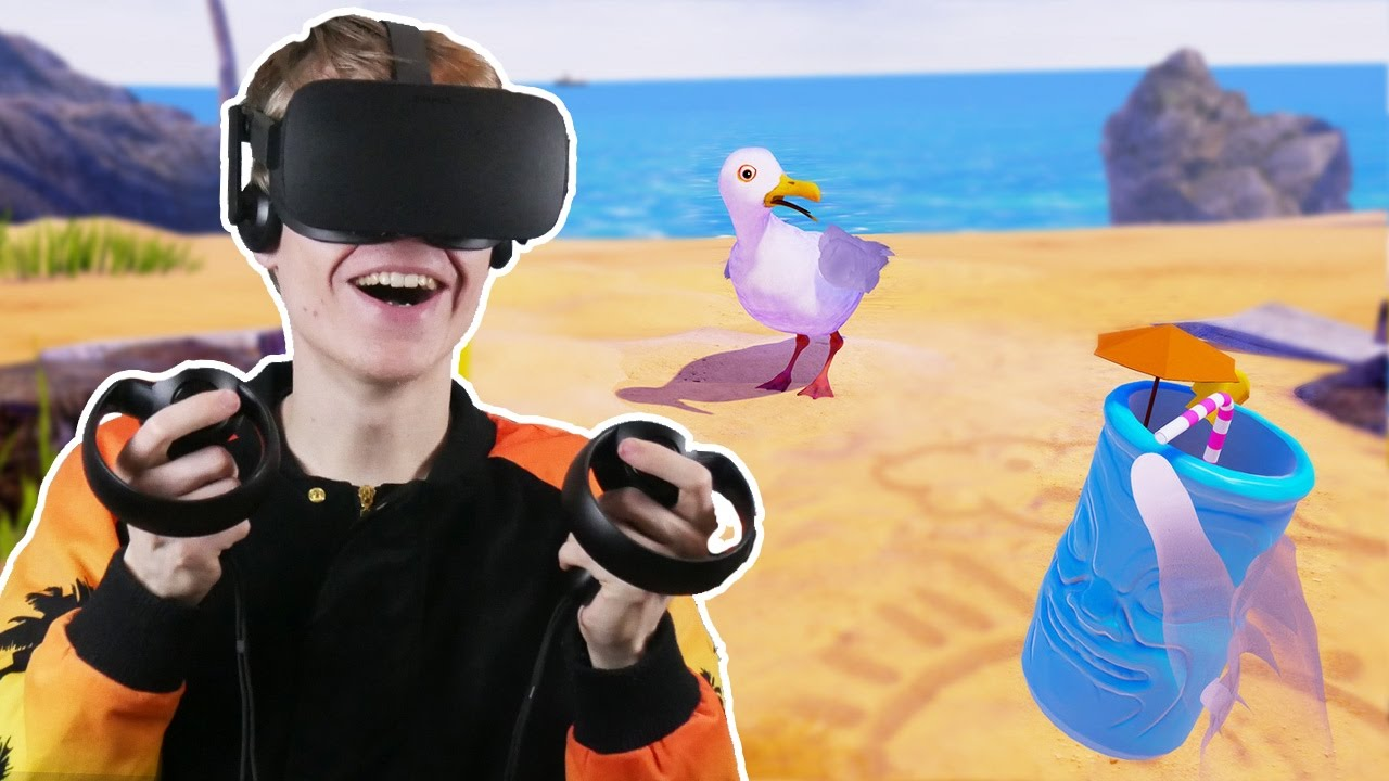 INTERACTIVE ANIMATION IN VIRTUAL REALITY!  | Gary the Gull VR Experience (Oculus Touch Gameplay)