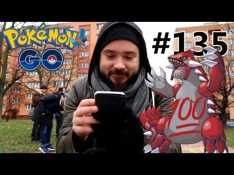 Pokemon GO s pRajou - PRVNÍ LEGENDARNÍ GROUDON, 100%?