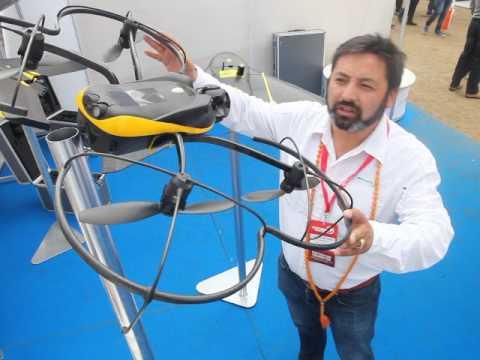 UAV SenseFly en Exponor 2017