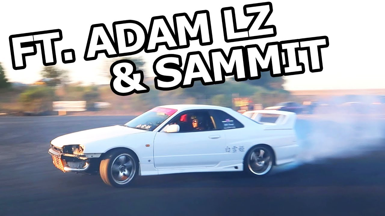 My FIRST Drifting Experience with SAMMIT and AdamLZ