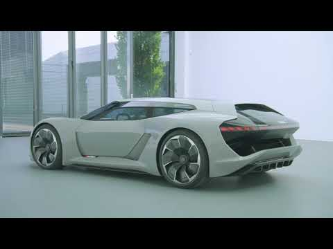 Audi PB18 E-Tron Looks Out Of This World In Official Videos