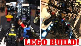 Insane Custom LEGO Build!! Batman Batsuit Conveyor