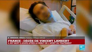 Après onze ans dans un état végétatif, Vincent Lambert est mort