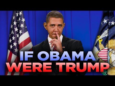 If Barack Obama Were Donald Trump (with Reggie Brown)