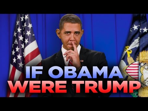 If Barack Obama Were Donald Trump with Reggie Brown