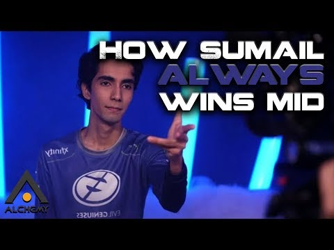 How Sumail Always Wins Mid | Pro Dota 2 Guides