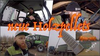 FarmVLOG#94 - neue Holzpellets