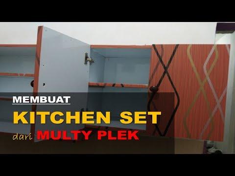 Membuat kitchen set sendiri dari multiplek