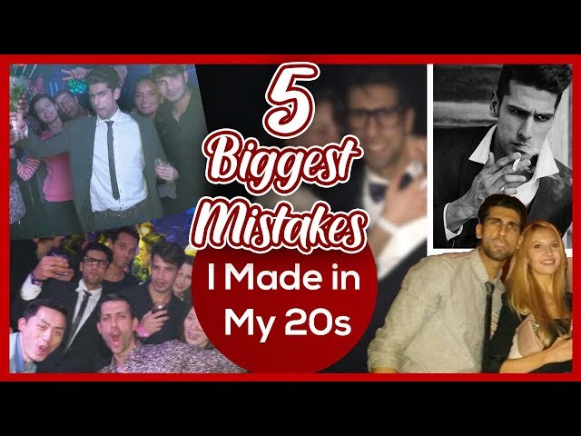 5 Biggest MISTAKES I MADE IN MY 20s | Best Life Lessons learnt in my 20s