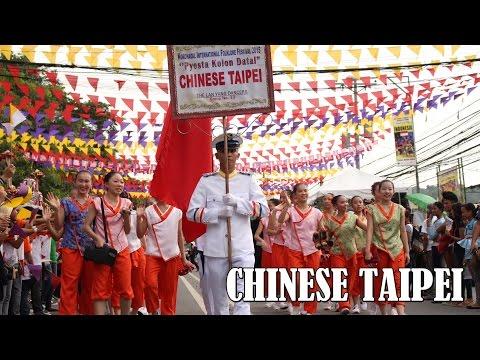Chinese Taipei's Lan Yang Dancers in Philippines