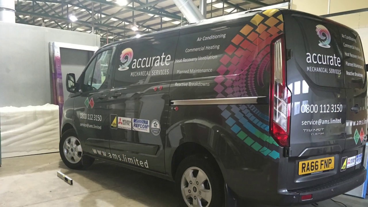 Vehicle Wrapping And Signwriting A Transit Custom Youtube