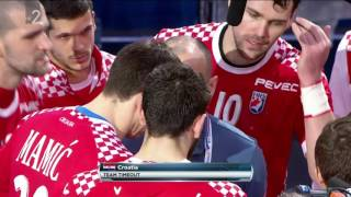 IHF World Championship | Bronze Medal Game | Slovenia vs. Croatia - Last 15 minutes [FullHD] 1/3
