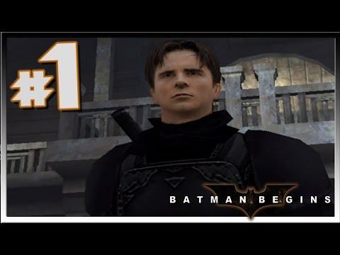 BATMAN BEGINS: Walkthrough Part 1 Ninja Wayne Power GO! (GC)