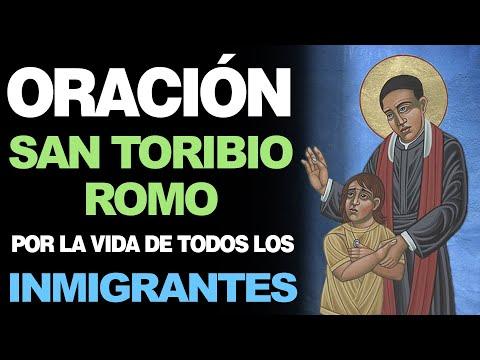 🙏 Poderosa Oración a San Toribio Romo POR LOS INMIGRANTES 🙇
