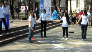 Ziua internațională a apelor marcată la Chișinău #flashmob