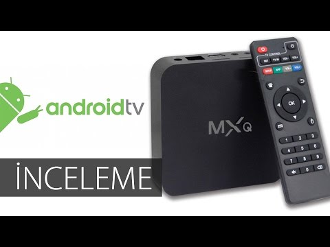 MXQ Amlogic S805 Quad Core Android TV Box İncelemesi - Review
