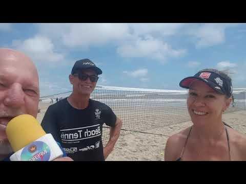 BEACH TENNIS NO IMBÉ  DIA 02 JAN 2020