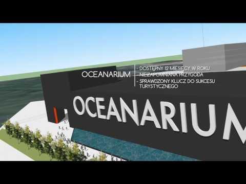 Oceanarium w Świnoujściu - animacja