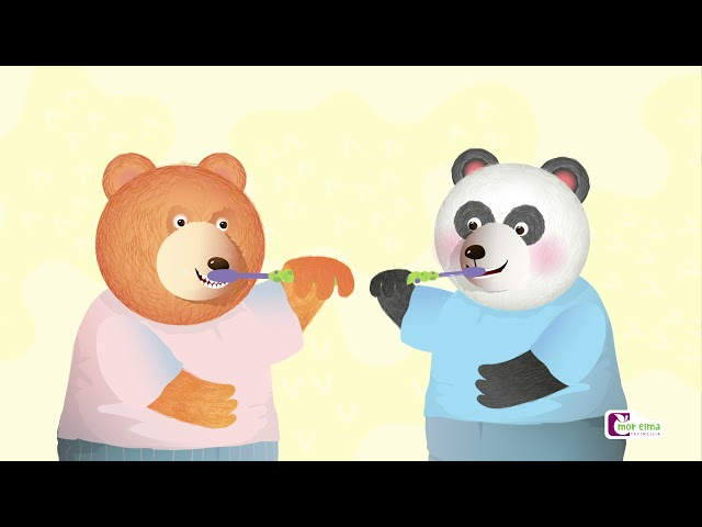 Bobi Diş Fırçalamayı Öğretiyor / Okul Öncesi Eğitim - Cici Mici 2 Yaş Eğitim Seti