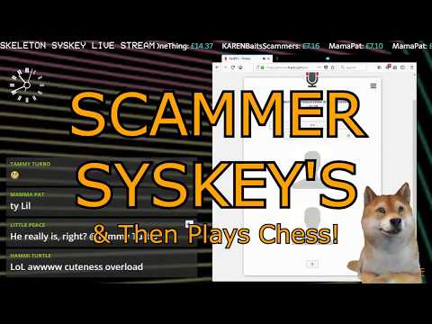 [Stream Highlight] Fake Tech Support Syskey's me & then we play chess!
