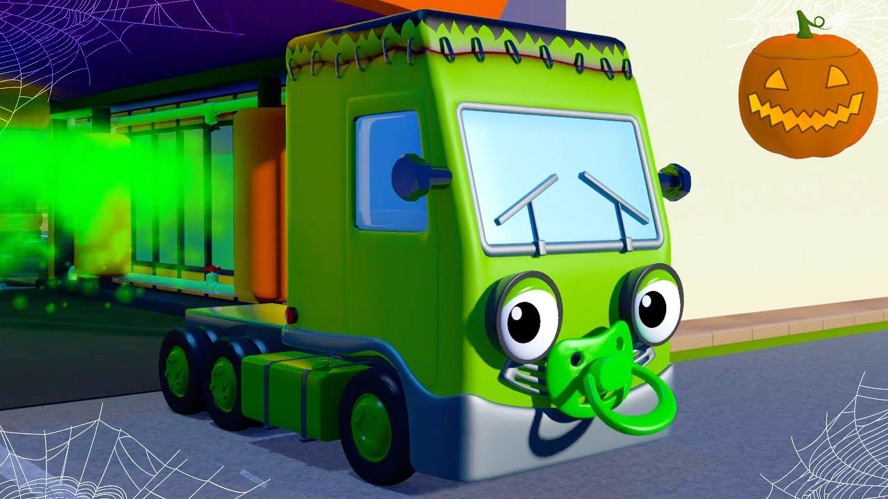 Baby Truck Halloween Song   Nursery Rhymes & Kids Songs ...
