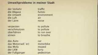 Gcse - environmental traffic pollution ...