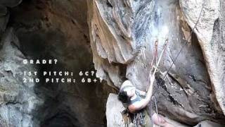 New router, bolter and climber Francis Haden establishes a new mult...
