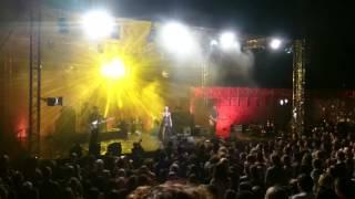 (Morcheeba) Skye and Ross -Light of Gold live at sv.Mihovil in Šibenik.