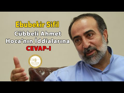 Ebubekir Sifil - Cübbeli Ahmet Hoca'nın...