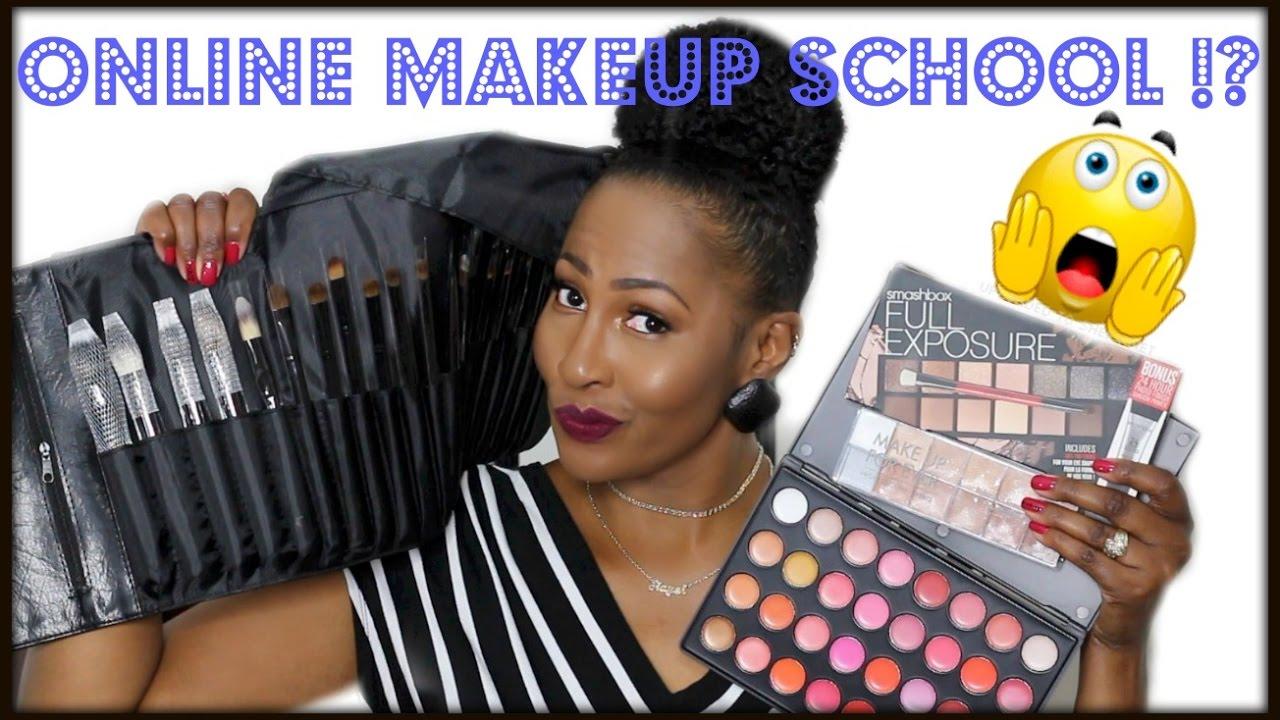 Online Makeup School⎮My Experience⎮Makeup Kit ...