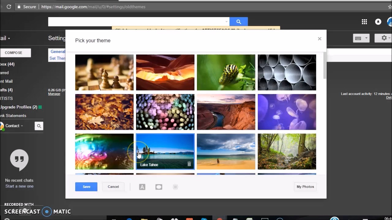 Themes in gmail compose - How To Change Themes In Gmail